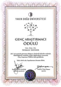 2017 genç araştırmacı ödülü